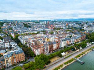 Blick über Mainz