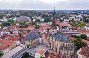 Der Rathausplatz Osnabrück