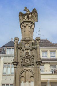Preußen Denkmal Altmarkt Moers