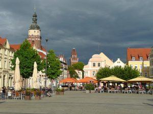 Marktplatz von Cottbus
