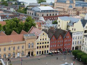 Ausblick auf Schwerin