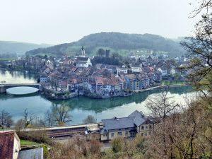 Blick auf Laufenburg in Düren