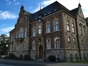Blick auf das Amtsgericht Delmenhorst